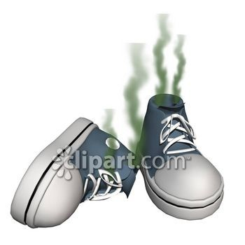 Smelly fumes clipart.