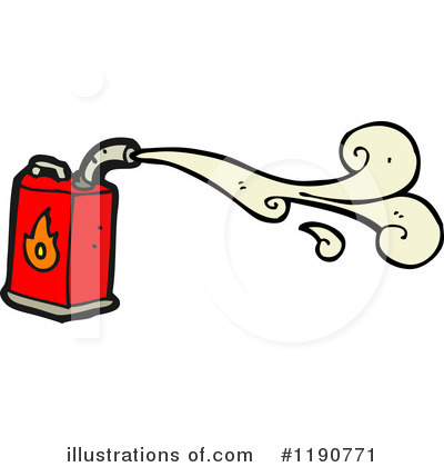 Gas Fumes Clipart.