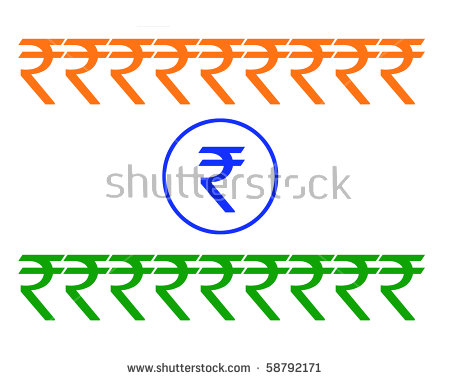 Indian Flag Formation Made New Symbol Stock Illustration 58792171.