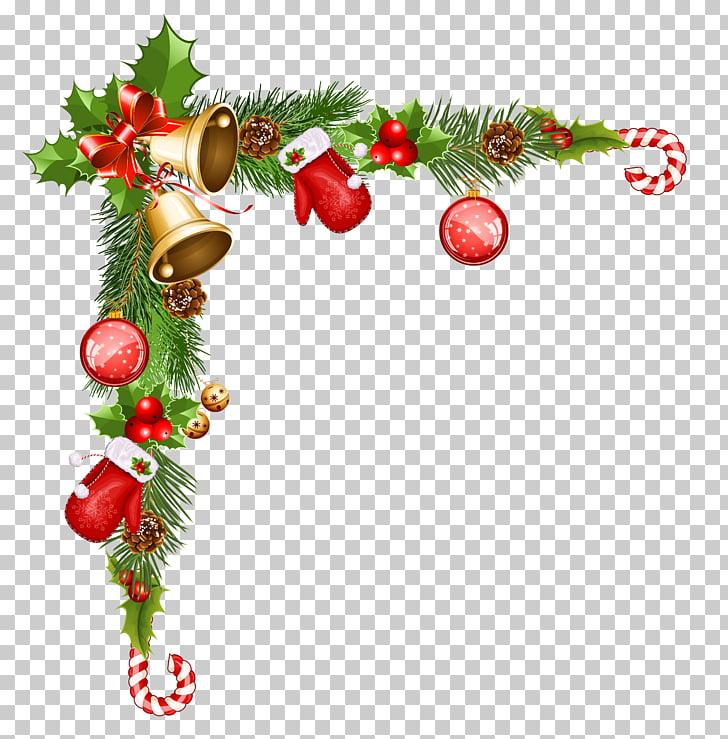 Decoración de navidad santa claus, fondo decorativo de.