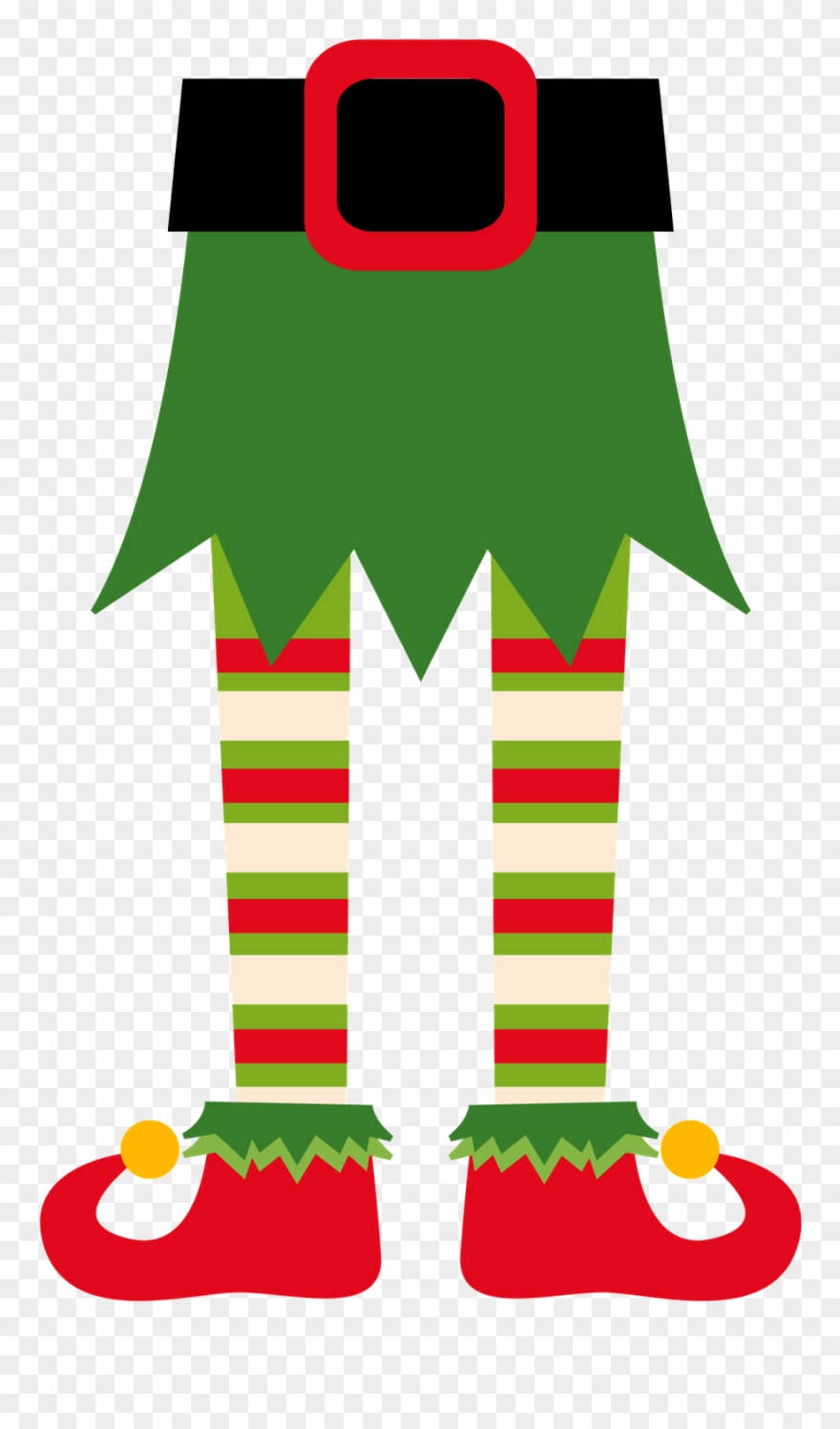Christmas Elf Clip Art.
