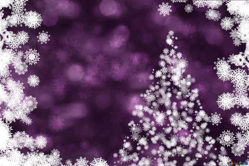 Fondos de navidad fondo morado con árbol de navidad clipart.