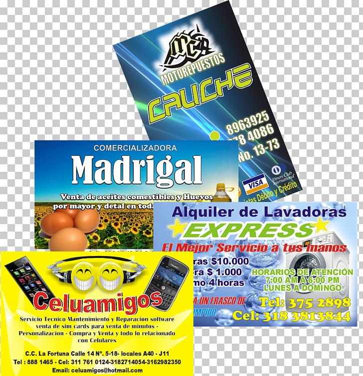 Display publicitario de marca, tarjetas de presentacion. PNG.