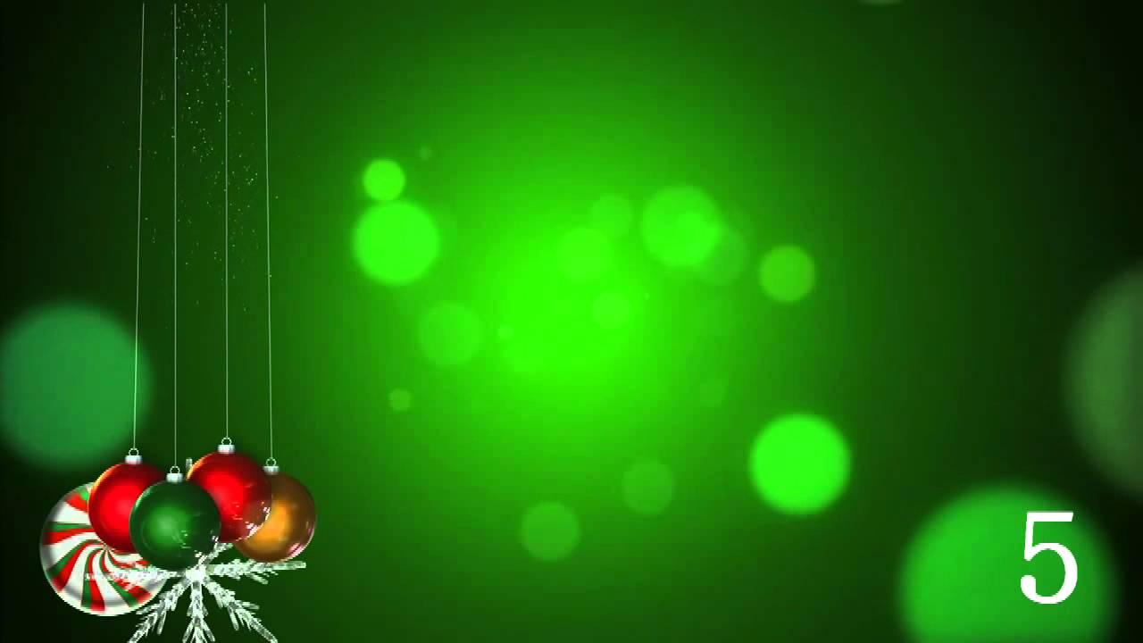 Fondos de Navidad en Video para Escoger.