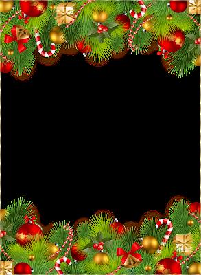 Imágenes navideñas y mas: Marcos para fotos Png sin fondo.