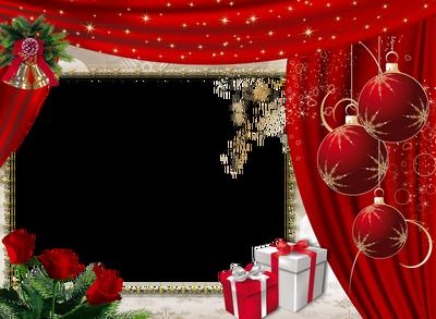 Marcos para fotos de Navidad.