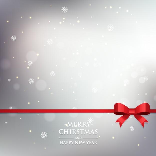 Fondo brillantes gris de copos de navidad.