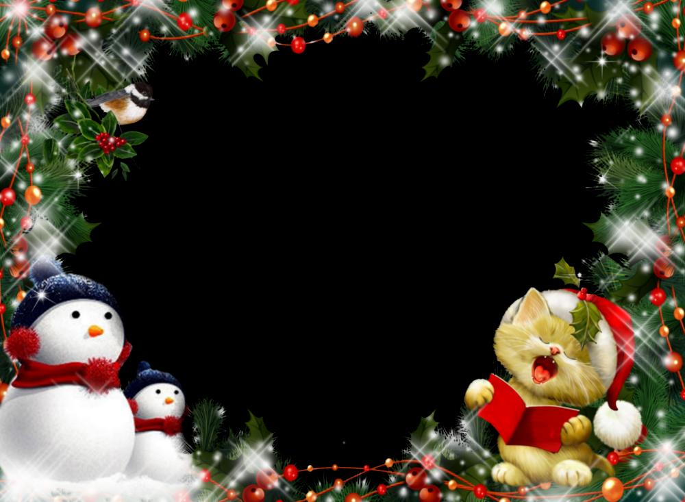 Fondos Y Marcos De Navidad Para Fotos Para Fondo De Pantalla En 4K.