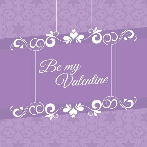Vintage valentine\'s day background.