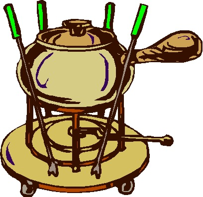 Gallery For > Fondue Clipart.