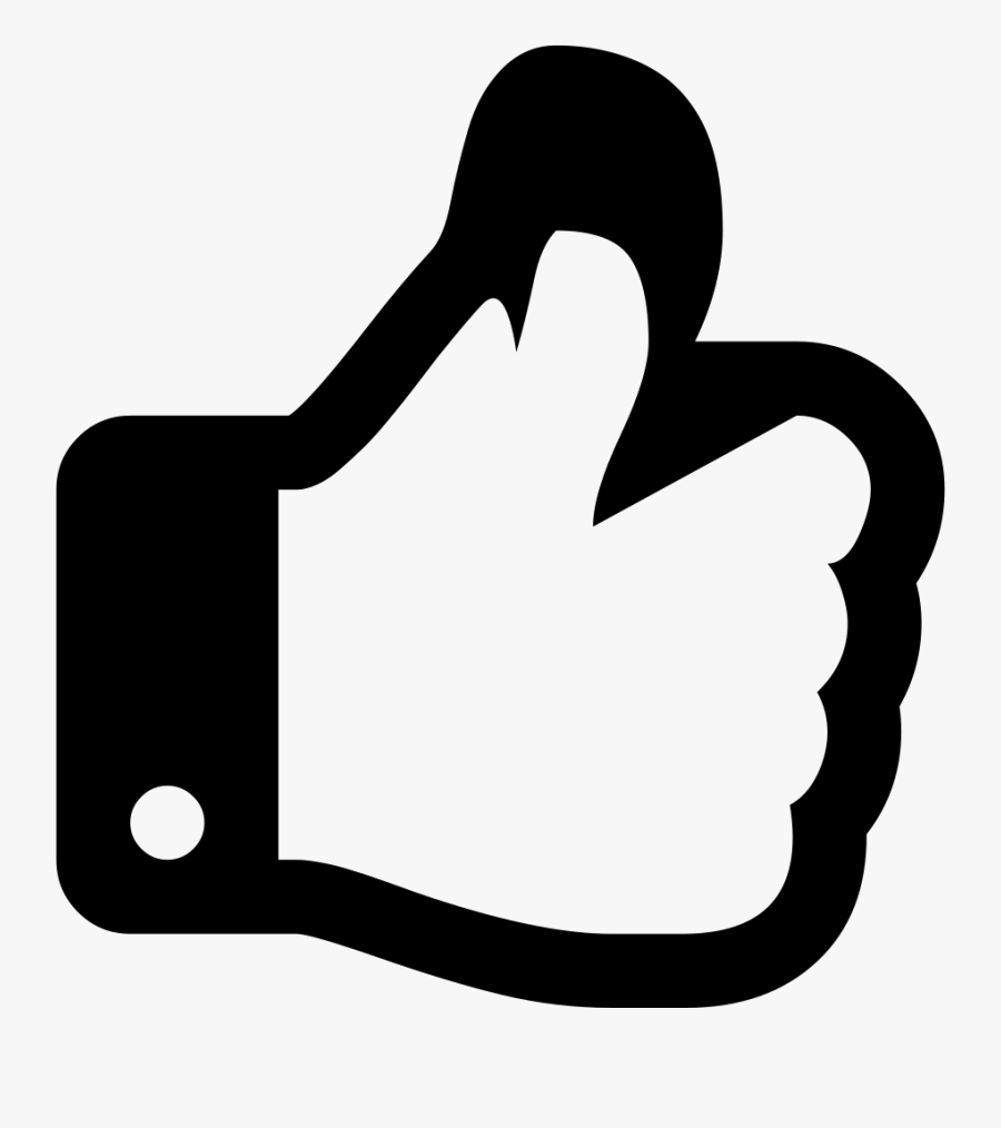 Thumbs Up Svg Icon.