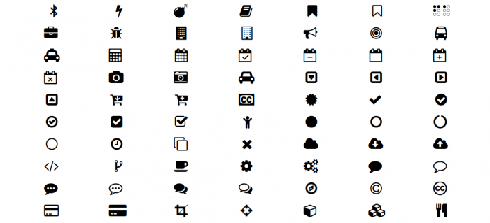 Download Font Awesome Icons Png Vector, Clipart, PSD.