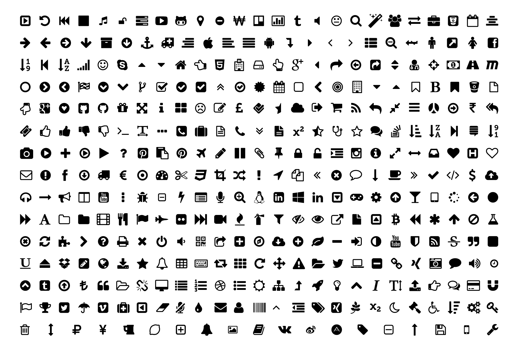 Font Awesome Icons Png (108+ images in Collection) Page 1.