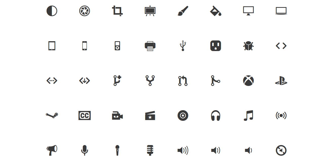 9 Free Icon Packs For Web Developers.