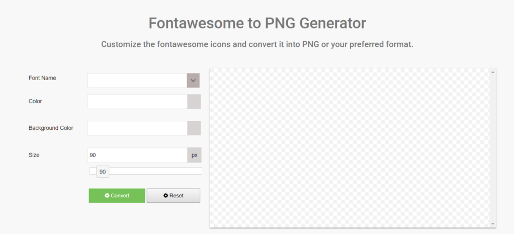 How to convert Font Awesome icons into PNG format?.