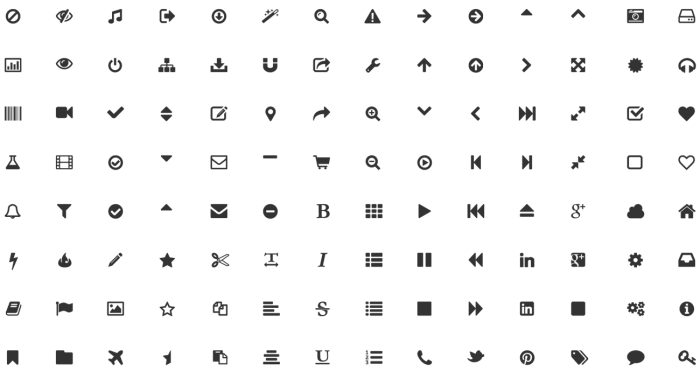 Font Awesome Png Icons Vector, Clipart, PSD.