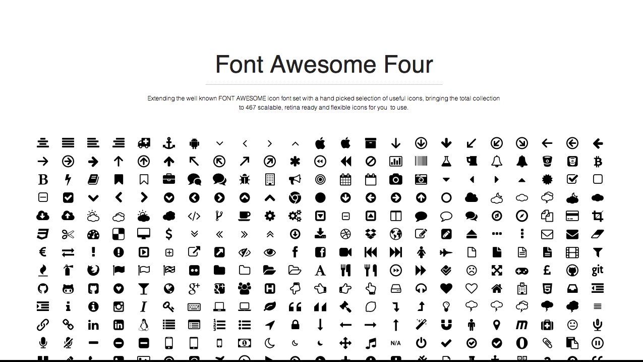 Font awesome png icons 5 » PNG Image.