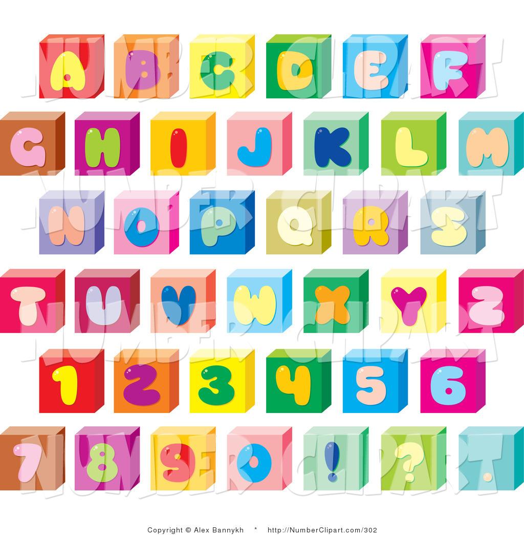 Block Letter Font Template