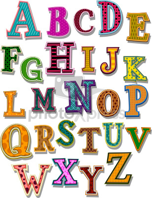 Font Clipart Page 1.