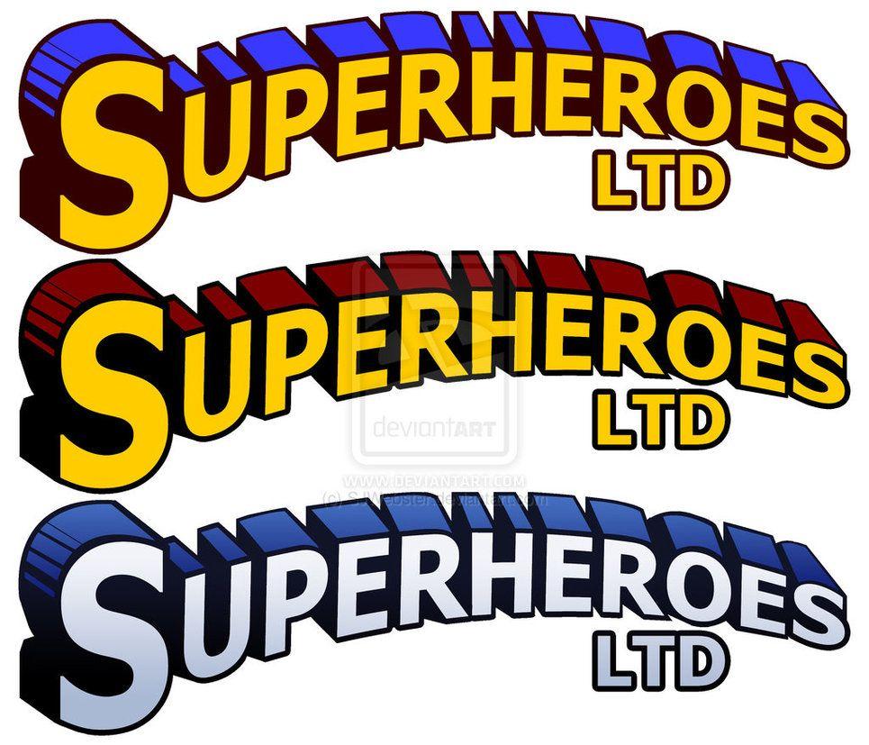 Superhero Font Generator Clip Art in 2019.