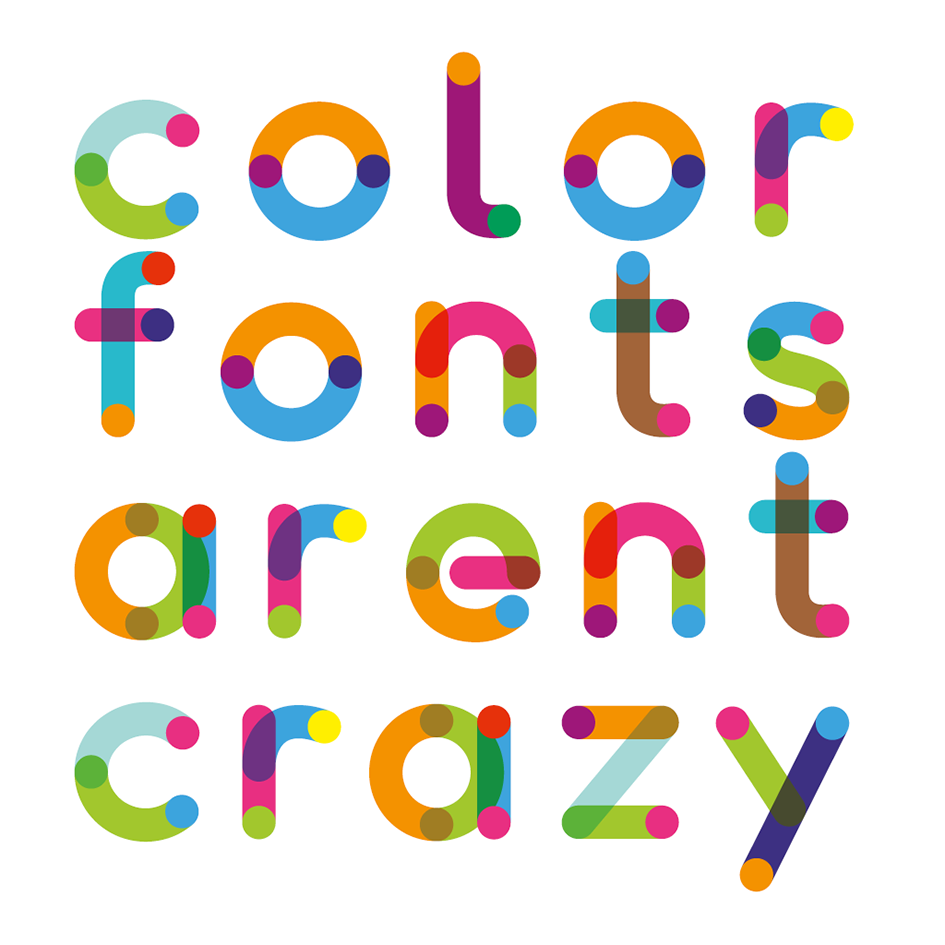 Fontself Maker to bring color font creation to anyone.