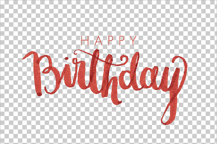 Birthday Calligraphy Font, Happy Birthday Calligraphy.