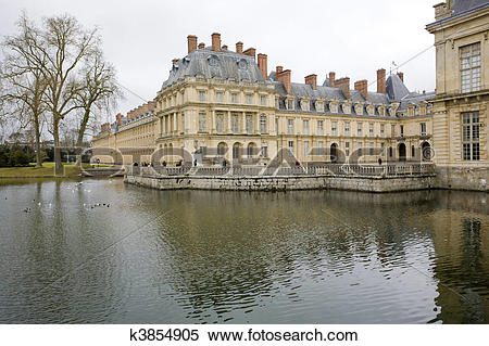 Stock Image of Palace Fontainebleau k3854905.