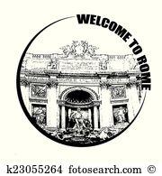 Fontana Clipart and Illustration. 4 fontana clip art vector EPS.