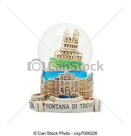 Stock Image of italian souvenir.