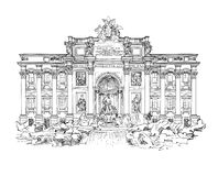 Trevi Stock Illustrations.
