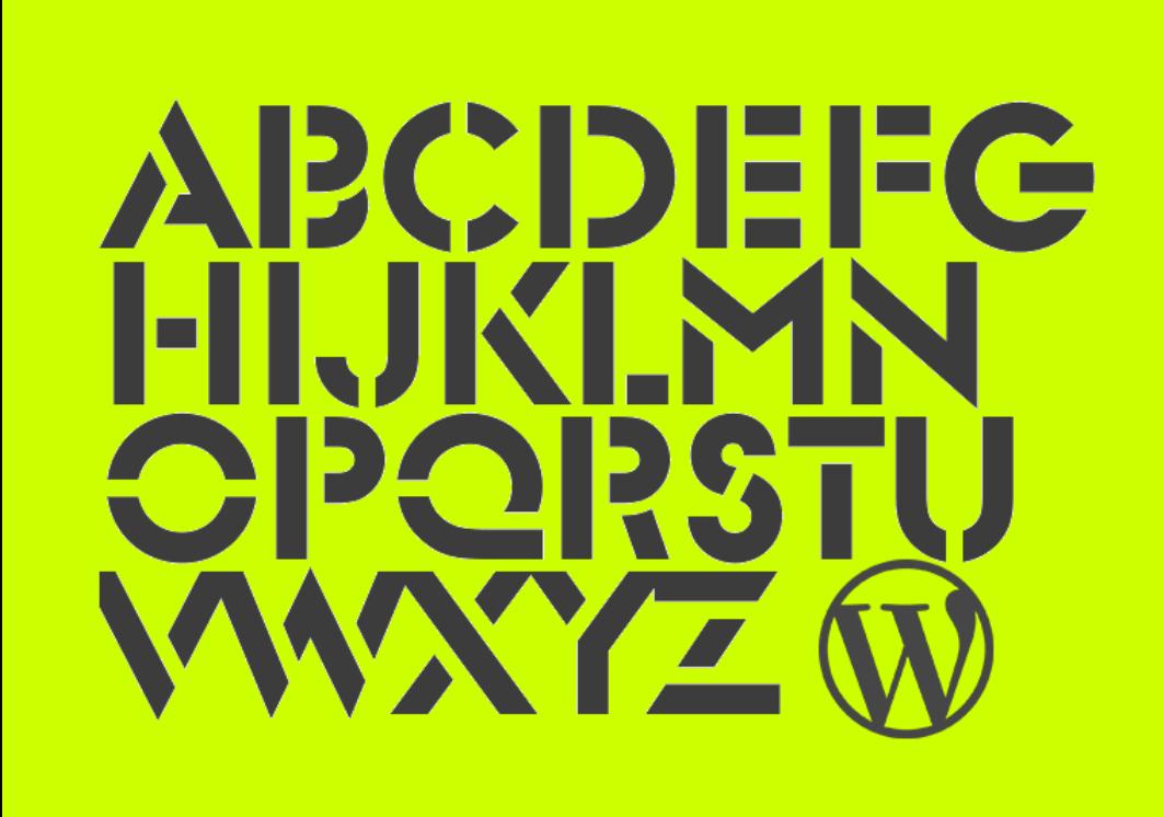 Installing Fonts to a Custom WordPress Theme.