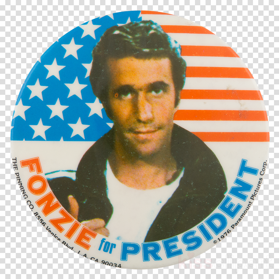 Henry Winkler, Fonzie, Happy Days, transparent png image & clipart.