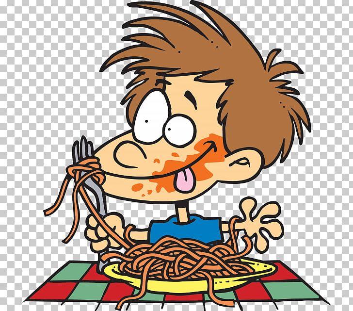 Eating Cartoon Pasta PNG, Clipart, Area, Art, Artwork, Cartoon.