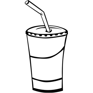 Similiar Soft Drink At Restaurant Clip Art Keywords.