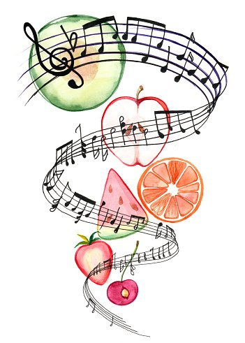 Music clipart food, Music food Transparent FREE for download.