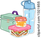 Food and water clipart.