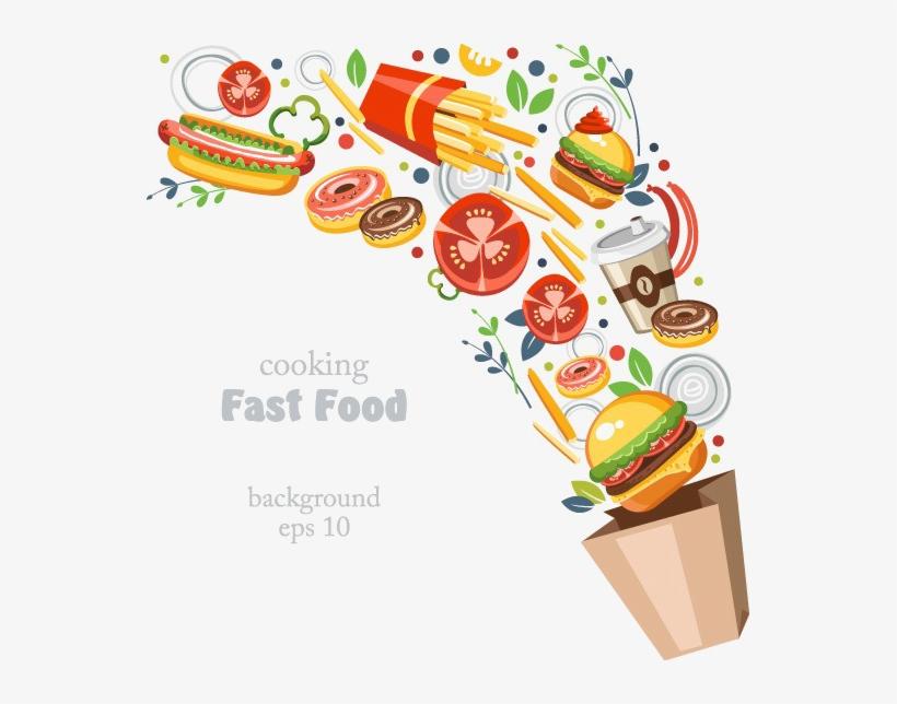 Fast Food Png Transparent Image.