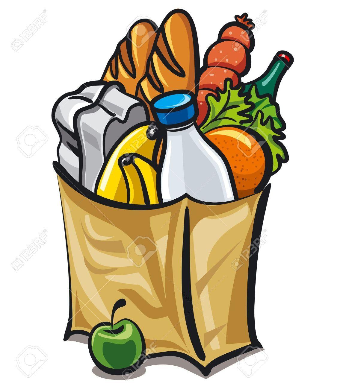 Food bag clipart 5 » Clipart Portal.