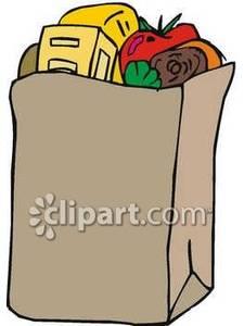 Food Bag Free Clipart.