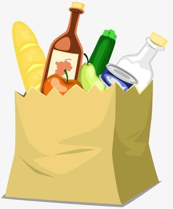 Food Bag Clipart & Free Clip Art Images #34169.