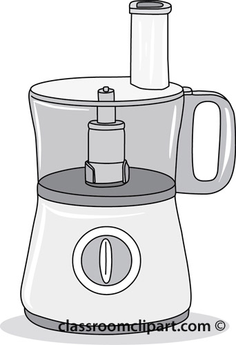 Food Blender Clipart