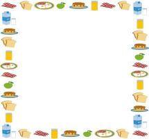 Clipart food borders » Clipart Portal.