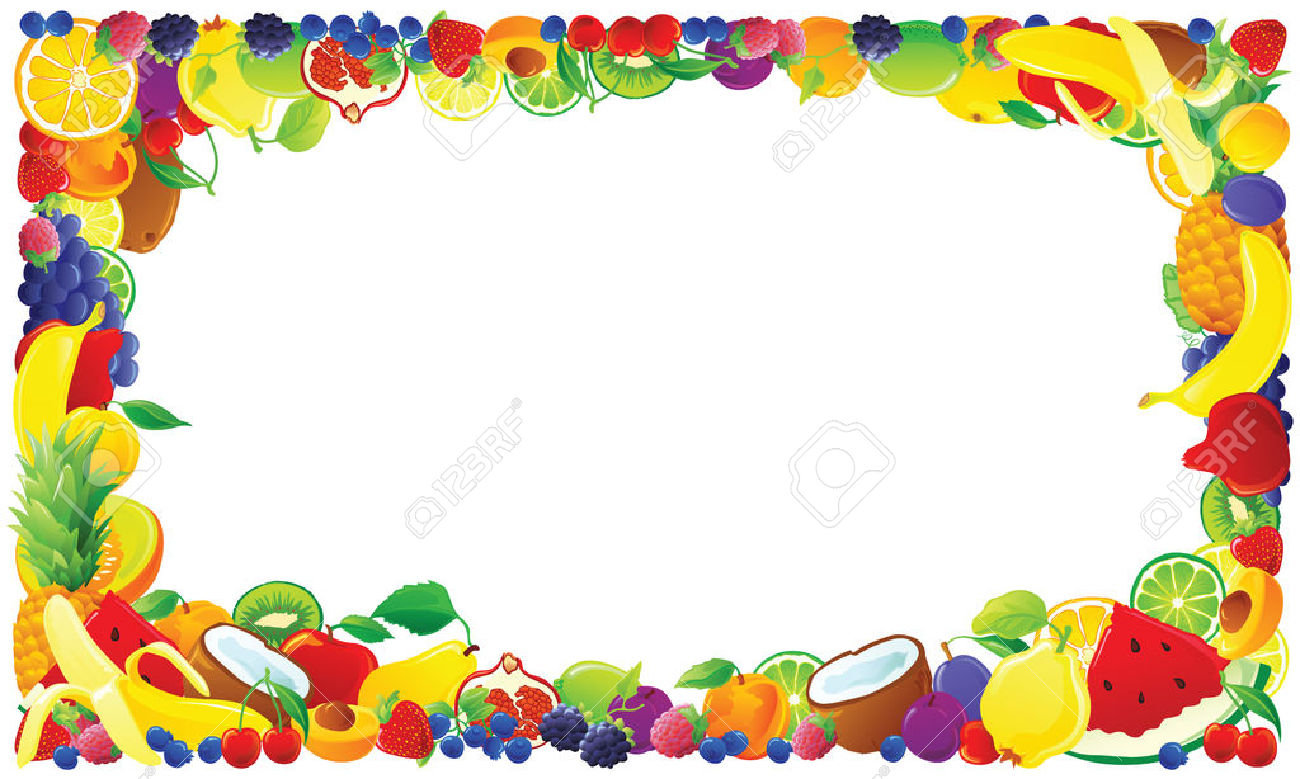Clipart food border 4 » Clipart Station.