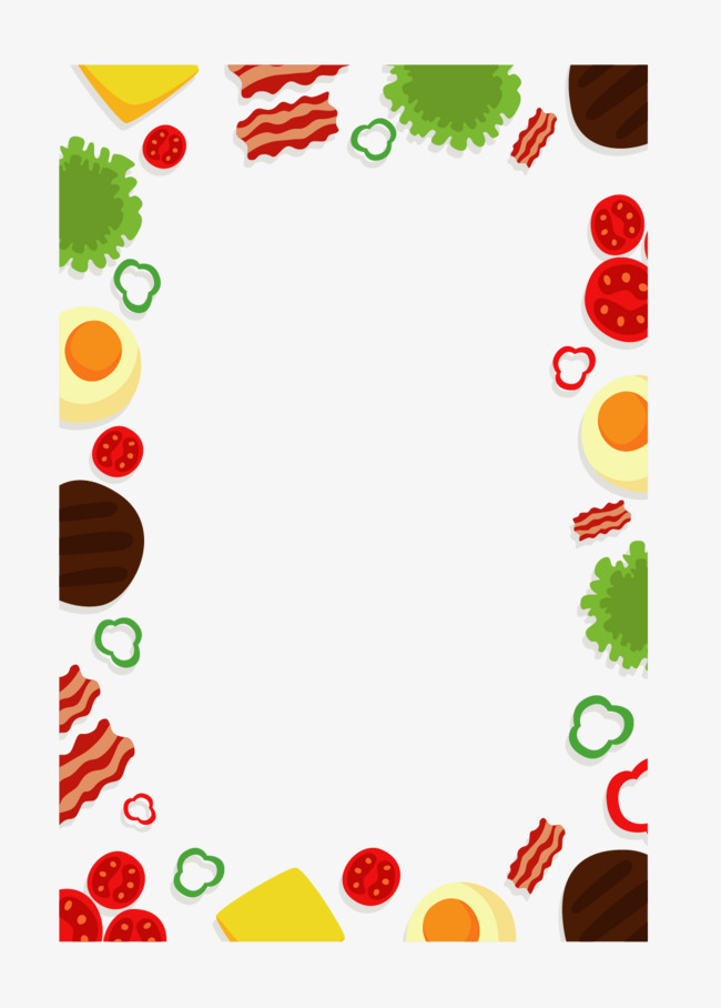 Food Border Clipart Png Images Vectors And Psd Files Average Borders.