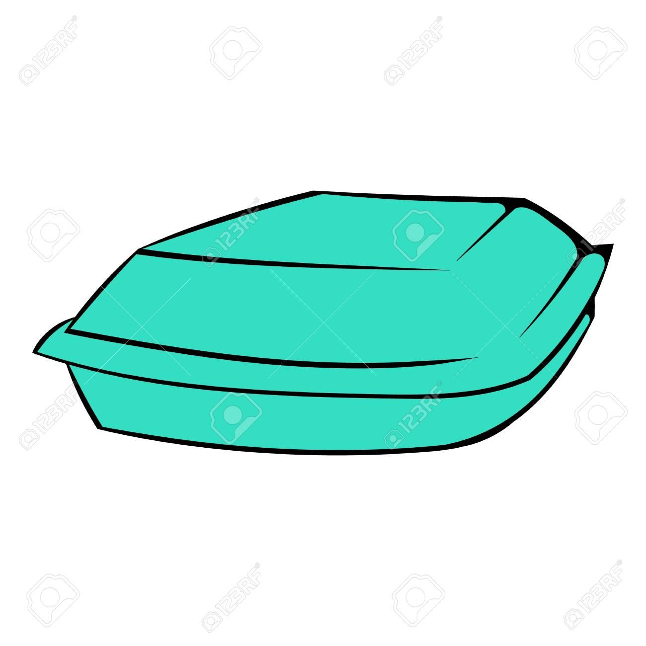 Food box icon, icon cartoon.