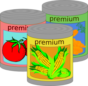 Canned Food Clip Art at Clker.com.