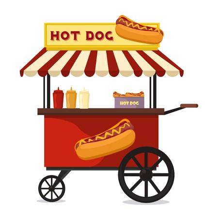 Food cart clipart 5 » Clipart Station.
