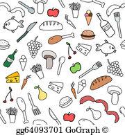Food Background Clip Art.