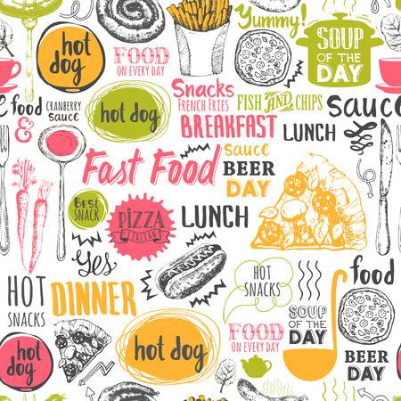 719,468 Background Food Stock Vector Illustration And Royalty Free.