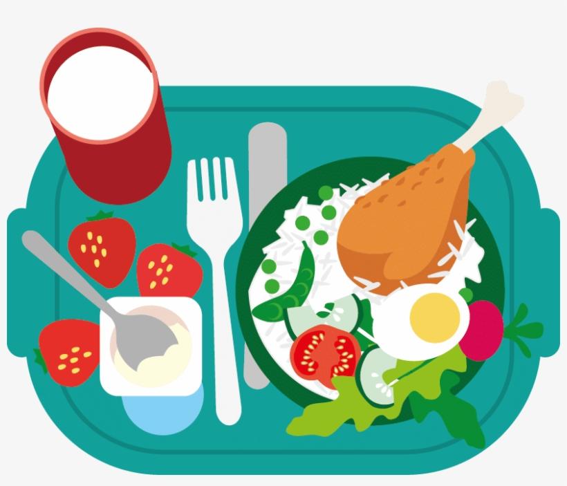 School Lunch Png Jpg Transparent Download.